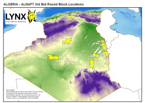 Algeria ALNAFT 3rd Licensing Round Open Blocks